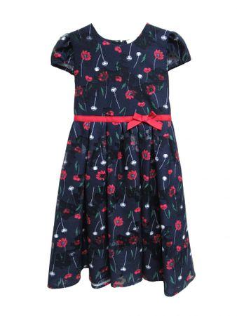Topo haljina za djevojčice, plava, 92