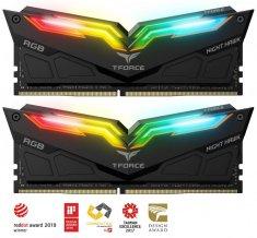 TeamGroup Night Hawk RGB 16GB Kit (2x8GB) DDR4-3600, DIMM, CL18 memorija (TF1D416G3600HC18EDC01)