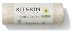 Kit & Kin Komposztálható pelenka tasakok 60 db