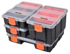 Tactix Sada organizérů na drobný materiál, 4 ks - TC320020 | Tactix