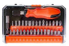Tactix Sada bitů se šroubovákem na bity, 32 ks - TC900017 | Tactix
