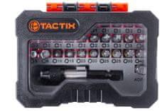 Tactix Sada bitů v plastovém pouzdře - TC419832P | Tactix