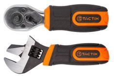 "Tactix Ráčna 1/4"", 3/8"" a nastavitelný klíč, 2 ks - TC900107 | Tactix"