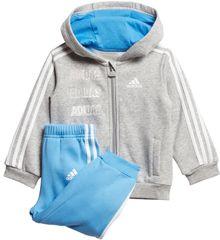 Adidas detská tepláková súprava Aj LOG FZHD J FL
