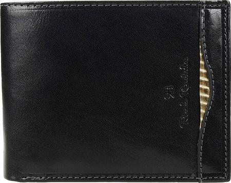 Renato Balestra moška usnjena denarnica, črna (78611)