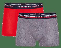Tommy Hilfiger Moške spodnjice UM0UM01233 2P Trunk Print, 2 kosa