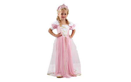 Unikatoy otroški pustni kostum princesa, roza (23952)