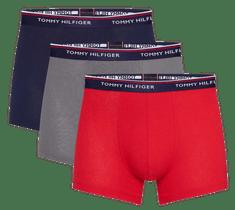Tommy Hilfiger trojité balenie pánskych boxeriek 1U87903842 3P Trunk
