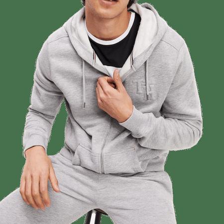 Tommy Hilfiger férfi pulóver UM0UM01632 Hoodie FZ HWK, S, szürke