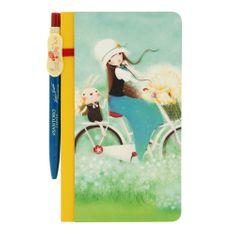 Santoro Kori Kumi Summertime zápisník s perem