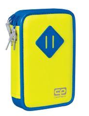 CoolPack Penál Jumper žlutý/modrý