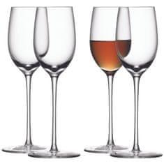 LSA International LSA BAR skleničky na sherry, 190 ml, 4ks, čiré, Handmade