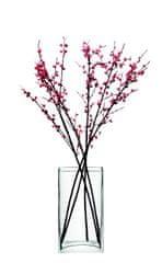 LSA International LSA Flower Bunch skleněná váza 32cm čirá, Handmade