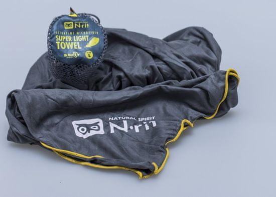 N-Rit Super ľahký uterák Šedý XL
