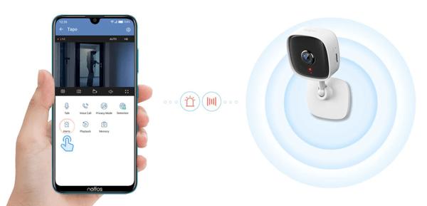 Kamera bezpieczeństwa IP TP-Link C100, nocna wizja aż do 9 metrów