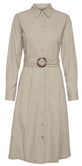 b.young dámské košilové šaty Felixa 20807889 34 béžová