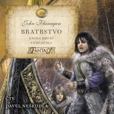 Flanagan John: Bratrstvo (Kniha první) - Vyděděnci - CD