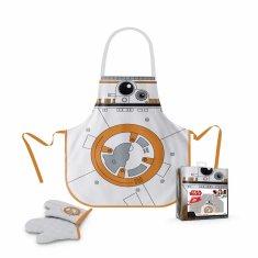Star Wars Kuchyňský zástěra ve sklenici Star Wars - BB-8 - zástěra, chňapka