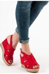 Gemini Dámské sandály espadrilky 5M17-11R - Best Shoes