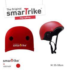 Smart Trike SMART TRIKE - Detská prilba, M - červená