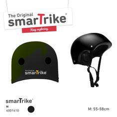 Smart Trike SMART TRIKE - Detská prilba, M - čierna
