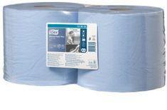 Tork průmyslová papírová utěrka Plus malá modrá W1/2 -130052