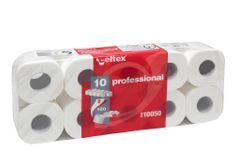 Celtex Toaletní papír CELTEX Professional 2vrstvy 160 útržků bílý - 10ks