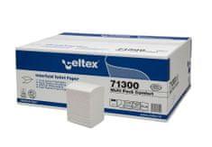 Celtex Toaletní papír CELTEX Comfort skládaný 2vrstvy bílý - 1krt