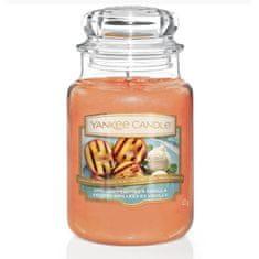 Yankee Candle vonná svíčka Grilled Peaches & Vanilla 623 g