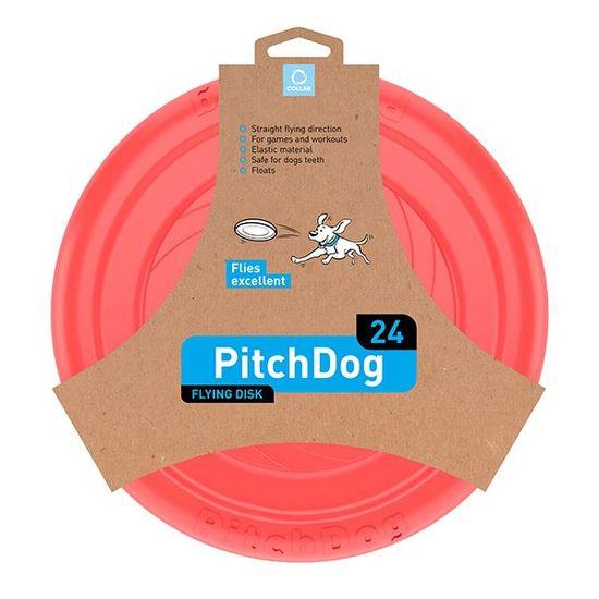 Pitch Dog létající DISK pro psy růžový 24 cm