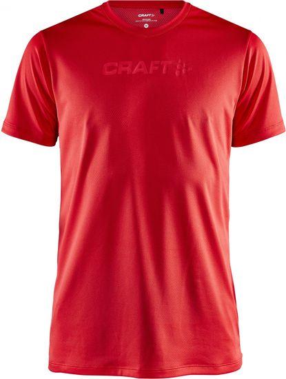 Craft pánské tričko Core Essence Mesh SS (1908786-430000) S červená