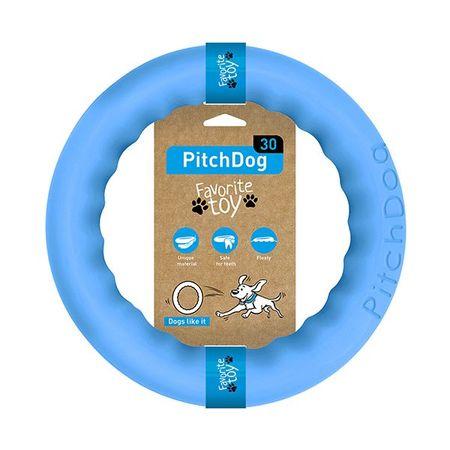 Pitch Dog obruč za treniranje pasa, plava, 28 cm