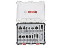 Bosch komplet mešanih rezkarjev 6 mm, 15-delni (2607017471)