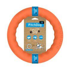 Pitch Dog tréninkový KRUH pro psy oranžový 28 cm
