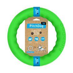 Pitch Dog tréninkový KRUH pro psy zelený 28 cm
