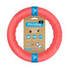 Pitch Dog tréninkový KRUH pro psy růžový 28 cm