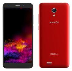 Aligator S5520 Duo, 1GB/16GB, czerwony
