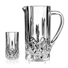RCR Set na vodu krčah + poháre Opera, 1+6