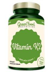 GreenFood Vitamin K2 60kapslí