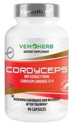 VemoHerb Cordyceps CS-4 90kapsúl