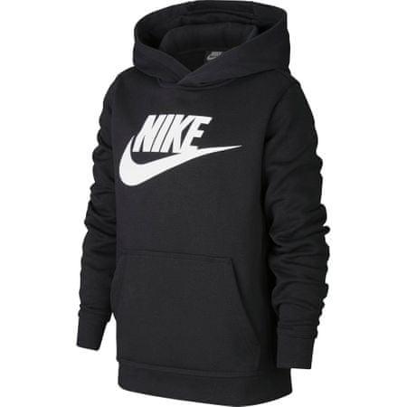 Nike bluza chłopięca NSW CLUB + HBR PO S Czarny
