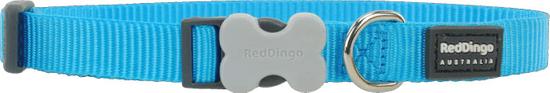 RED DINGO Nylonový obojek Red dingo classic tyrkysový