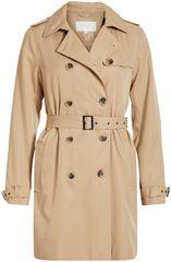 VILA Női kabát VIMOVEMENT TRENCHCOAT / SU - NOOS Nomad