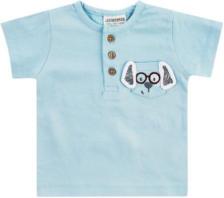 Jacky rövid ujjú fiú póló, 62, kék