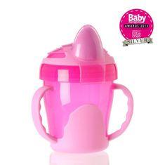 Vital Baby Dětský výukový hrníček 200 ml, růžový