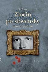 Čomaj Ján: Zločin po slovensky