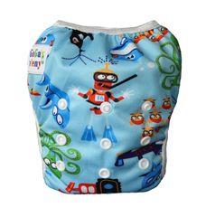 GaGa's pleny Plenkové plavky pro kojence i batolata Modré moře