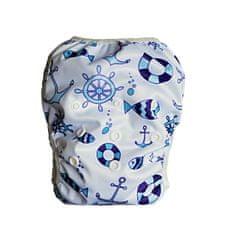 GaGa's pleny Plenkové plavky pro kojence i batolata Kotvy modré