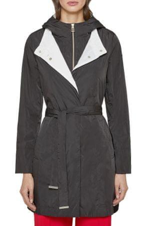 Geox płaszcz damski Ischia W0221Y T2603 XS czarny