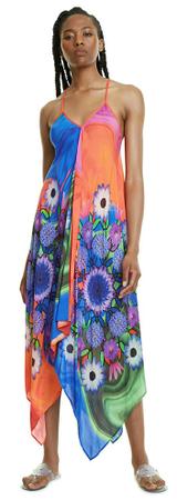 Desigual 20SWMW11 Roseau ženska obleka, večbarvna, M
